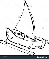 simple drawing of a boat pictures of boats for kids clipartsco