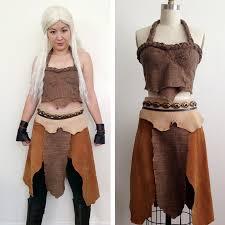 khaleesi costume daenerys targaryen of thrones khaleesi dothraki