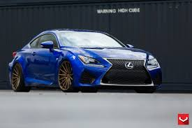 lexus rc modified vossen wheels lexus rcf vossen flow formed series vfs 2