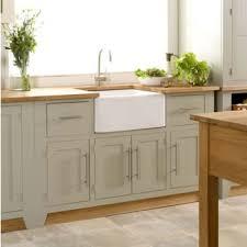 Creamery Kitchens Living Kitchen Freestanding Belfast Sink Base - Kitchen with belfast sink