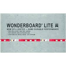 custom building products wonderboard lite 5 ft x 3 ft x 7 16 in