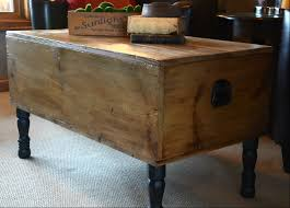wooden treasure chest coffee table tables trunk e thippo