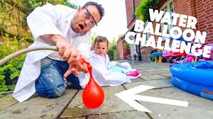 Challenge Water Balloon Water Balloon Challenge
