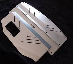 nissan 350z lower engine cover aluminum splash shield guard engine under tray for 2003 2009