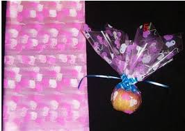 transparent wrapping paper food packing christmas plastic transparent wrapping paper free