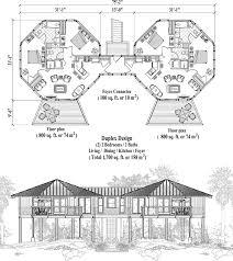 online commercial design concept multi family stilt piling