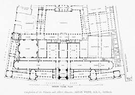 projected completion plan of the victoria and albert museum
