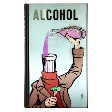 cartoon alcohol alcohol soviet anti alcohol posters colours may vary leeds