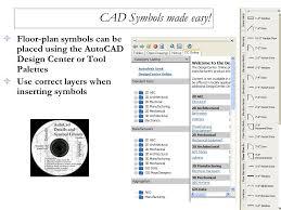 Floor Plan Using Autocad Chapter 16 Floor Plan Symbols Ppt Download