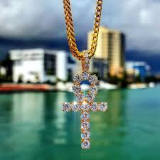 necklace cross diamonds images Ankh necklace the gld shop jpg