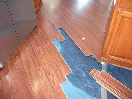 Water Damaged Laminate Flooring Make Water Damage From Plumbing Or Shower Drains Less Likely