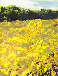 Maryland landscapes images Yellow spring fields maryland landscape fine art painting painting jpg