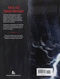 monster manual d u0026d core rulebook wizards rpg team