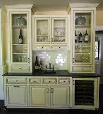 wet bar cabinet kitchen traditional with butcher block island