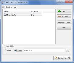 To Mp3 Free Flv To Mp3 Converter