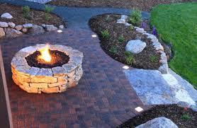 Round Brick Fire Pit Design - round brick fire pit plans round paver fire pit kit round rock