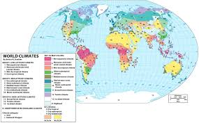 Climate World Map by World Strahler Climate Map Ref Geo World Regions Pinterest