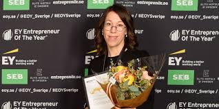 johanna björklund vinner entreprenörspris infotech umeå