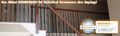 How To Restain Banister Nj Rail Refinishing All Flortec Inc