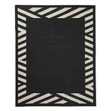 Black And White Outdoor Rug Outdoor Rugs Williams Sonoma