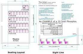Floor Plan Standards Alden Theater Seating Specification Page Auditorium Chairs Seats