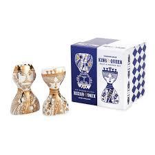 king and queen salt u0026 pepper shakers modern dining jonathan adler