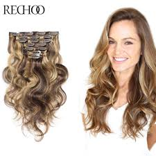 Dying Real Hair Extensions by Clip Human Hair Extensions 120 Gram Remy Real Human Clip Hair
