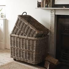 log baskets notonthehighstreet com