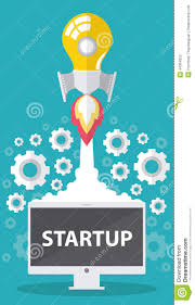 startup stock vector image 44364352