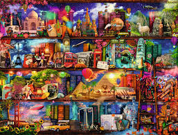 of books 2000 puzzle by ravensburger