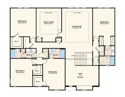 Media Room Floor Plans Bishop Floor Plan At Walden Cove In Sanford Fl Taylor Morrison