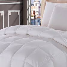 Grand Down All Season Down Alternative Comforter 500 Thread Count White Down Comforter Baffle Box Winter Weight By