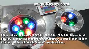 Outdoor Light Remote Control by 3w 6w Outdoor Underground Light Garden Landscape Buried Rgb Led