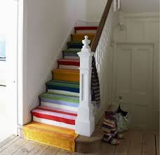 salvaged and painted stairs u2022 insteading