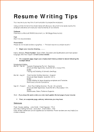Job Resume Set Up by Resume Letter Format Free Resume Example And Writing Download