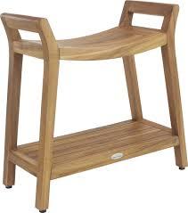 extended bath bench teak shower bench teak bath stool teak furniture aqua teak