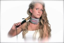 pageant curls hair cruellers versus curling iron help eliminate burns to the neck from curling irons straighteners