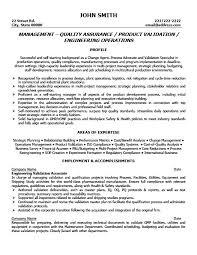 qa manager resume sample botbuzz co