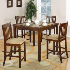 transitional dining counter height 5 pack coaster 150154