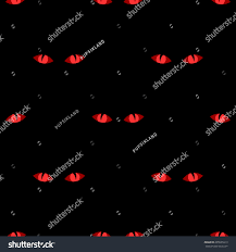 bright halloween background seamless pattern terrible glowing bright red stock vector