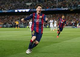 Lionel Messi Leg Lionel Messi Takes Chions League Record From Cristiano Ronaldo