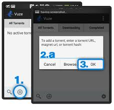 vuze for android android application guide vuzewiki