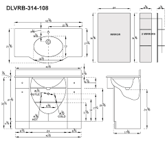 Standard Mirror Sizes For Bathrooms - bathroom bathroom cabinet dimensions on bathroom throughout vanity