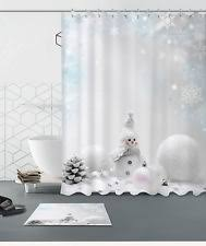 Snowman Shower Curtain Target Modern Shower Curtains Ebay