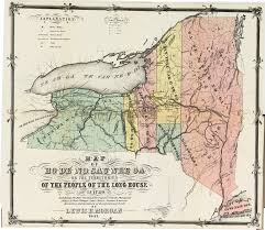 Finger Lakes New York Map by Cayuga County Nygenweb Project Map Page