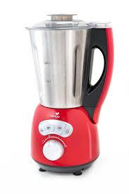 Soupe Au Blender Chauffant Blender Chauffant Inox Cook U0026 Ice Rouge Brillant Senya