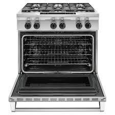 Kitchen Aid Toaster Ovens Kitchenaid Kdrs467vss Pro Style 5 1 Cu Ft Dual Fuel Range
