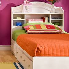 elegant magnificent twin bed with bookcase headboard twin