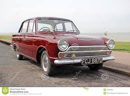 Ideal Classic Cars - vintage ford cortina mk1 car editorial photography image 33328692