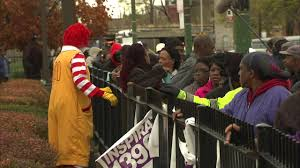 free thanksgiving turkey give away mcdonald u0027s owners give away free turkeys abc7chicago com